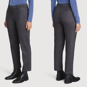 Kit and Ace Coastline Trouser Charcoal Melange